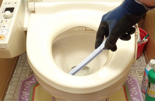 トイレの詰まり 直らない